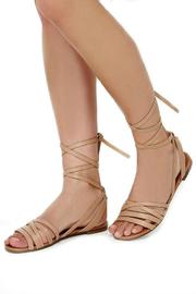 Breckelle's Leg Wrap Sandal - Other