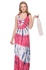 T-Party  Bree Knit Tank Maxi Dress - Front full body