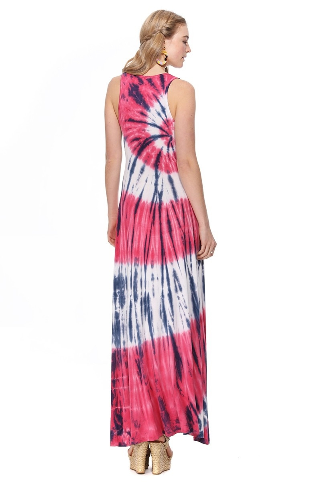 T-Party  Bree Knit Tank Maxi Dress - Side Cropped Image