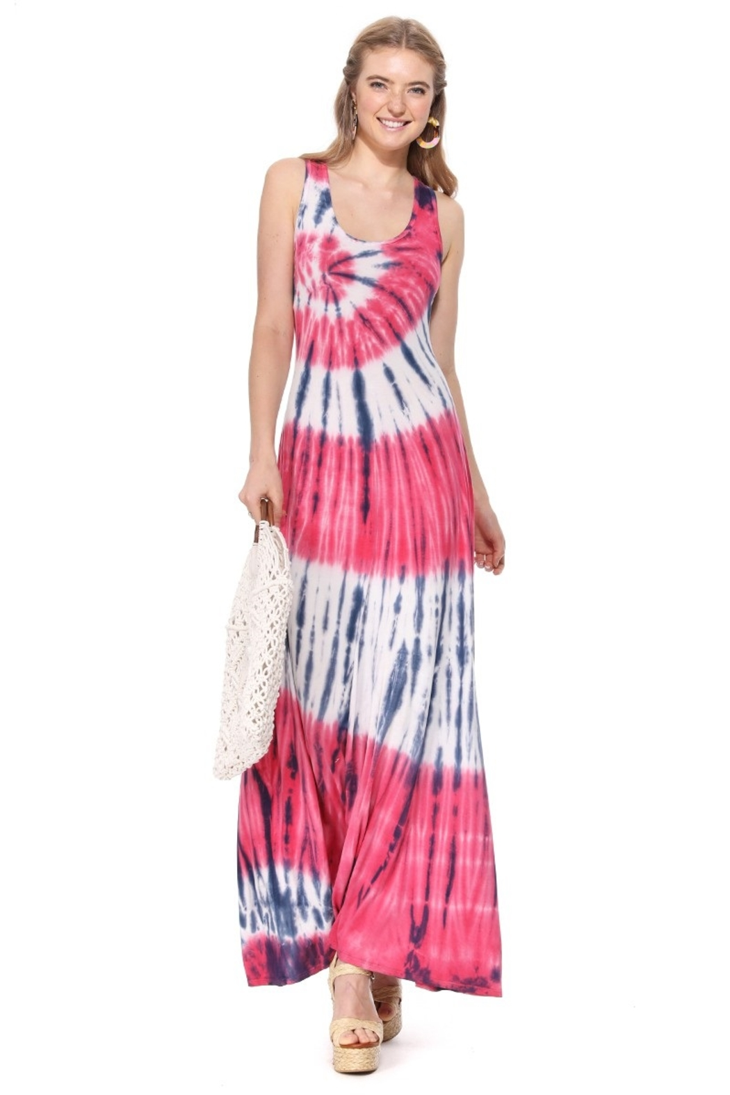 T-Party  Bree Knit Tank Maxi Dress - Main Image