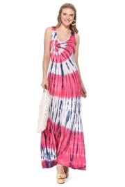 T-Party  Bree Knit Tank Maxi Dress - Front cropped