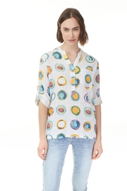 Charlie B. Breeze Print  Blouse - Product Mini Image