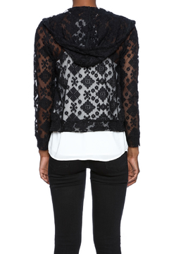 Breeze ever Lace Zipper Jacket - Alternate List Image