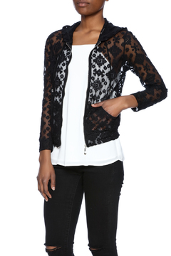 Breeze ever Lace Zipper Jacket - Product List Image