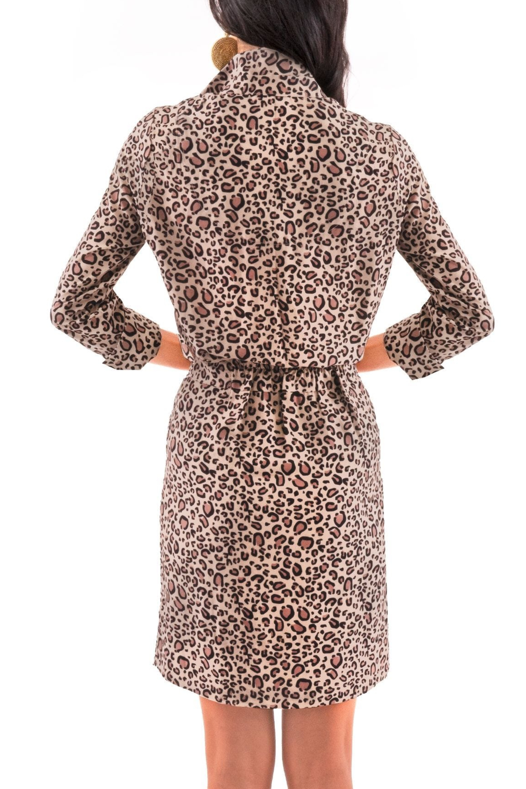 Gretchen Scott Breezy Blouson Dress - Side Cropped Image