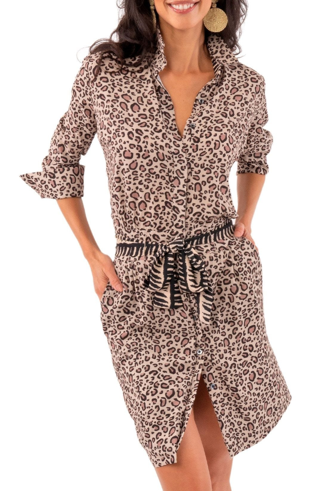 Gretchen Scott Breezy Blouson Dress - Front Cropped Image