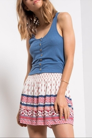 Others Follow  Breezy Elastic-Waist Skirt - Product Mini Image