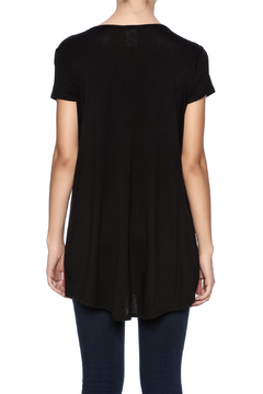 Shoptiques Product: Black Sequin Pocket Tee