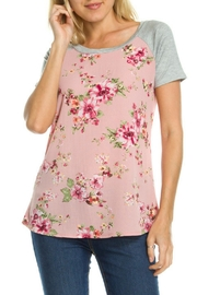 Brenda's Floral Print Top - Product Mini Image