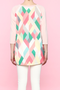 Shoptiques Product: Pink Geometric Shirt