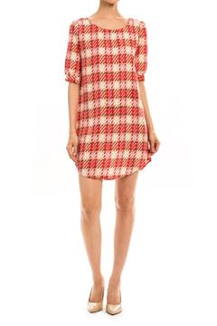 Shoptiques Product: Plaid Shift Dress