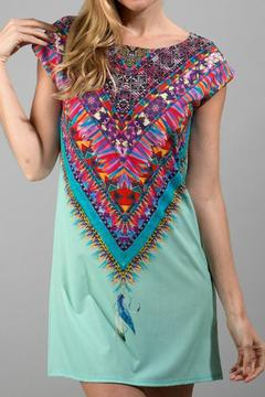 Shoptiques Product: Tribal Feather Dress