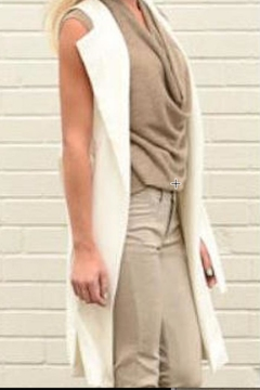 Brenda Beddome Long Belted Vest - Product List Image