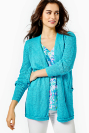 Lilly Pulitzer  Breya Open-Front Cardigan - Product Mini Image