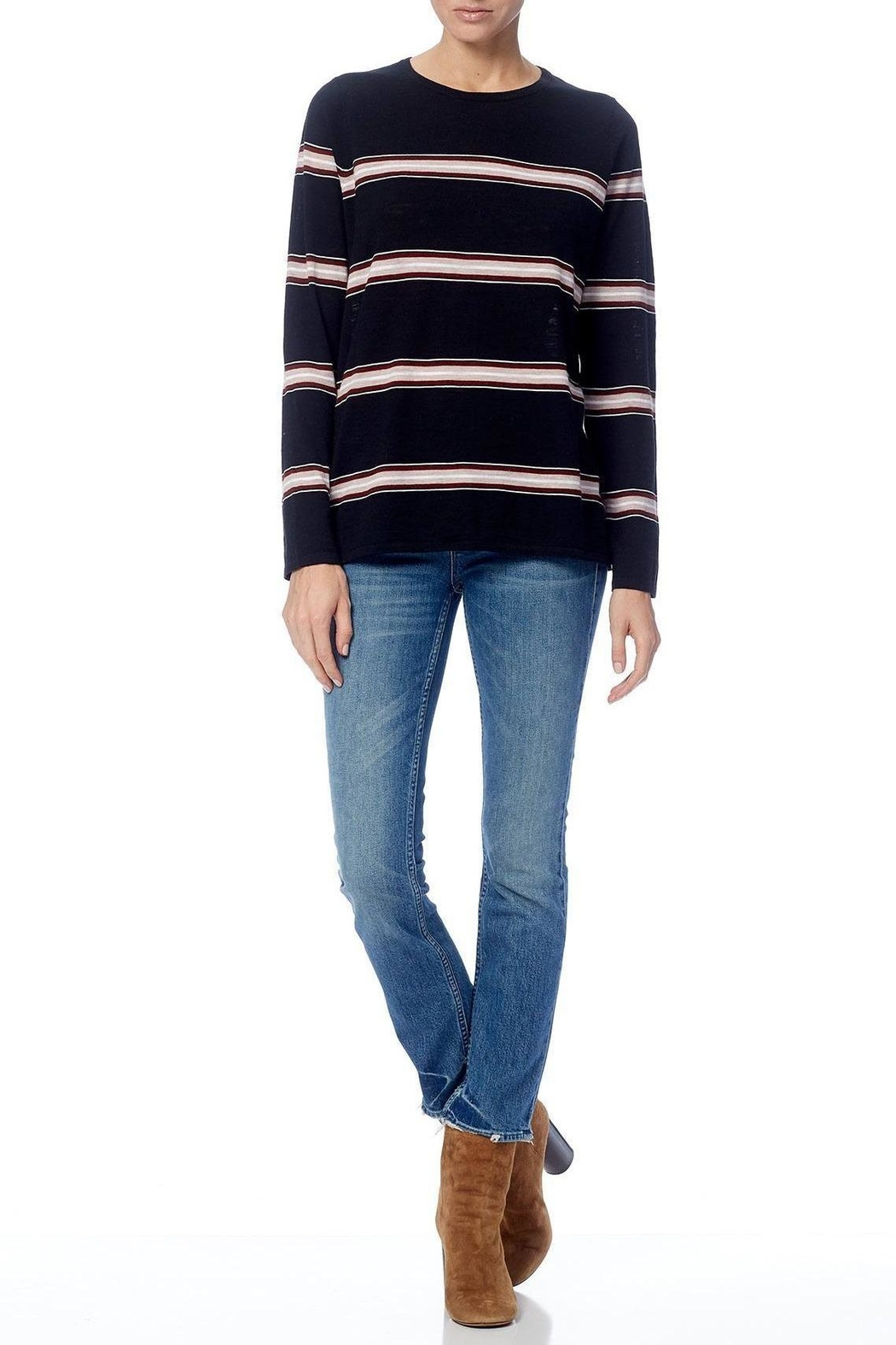360 Cashmere Brianne Sweater - Side Cropped Image