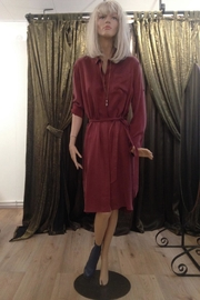RHUMAA Brickred Shirtdress - Product Mini Image