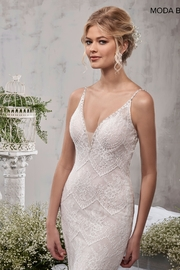 Mary's Bridal Bridal Dress in Ivory - Side cropped