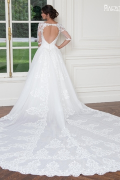 Mary's Bridal Bridal Wedding Gown In Ivory - Alternate List Image