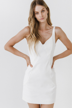 Shoptiques Product: Bride Babe Fitted Dress