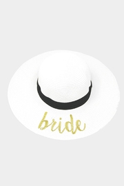 Wild Lilies Jewelry  Bride Floppy Hat - Product Mini Image