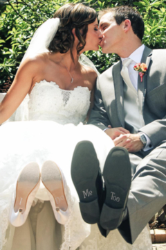 Two's Company Bride & Groom Rhinestone Decal - Alternate List Image