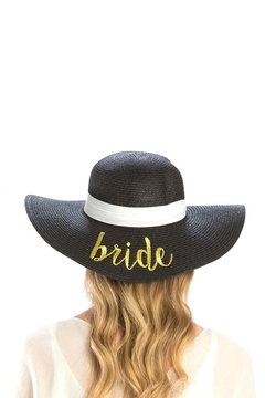 Wona Trading Bride Straw Sun-Hat - Alternate List Image