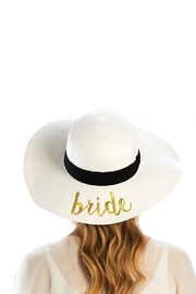 Wona Trading Bride Straw Sun-Hat - Front cropped