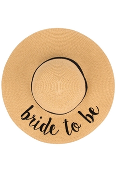 Olive and Pique Bride To Be Hat - Alternate List Image