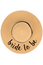 Olive and Pique Bride To Be Hat - Product Mini Image
