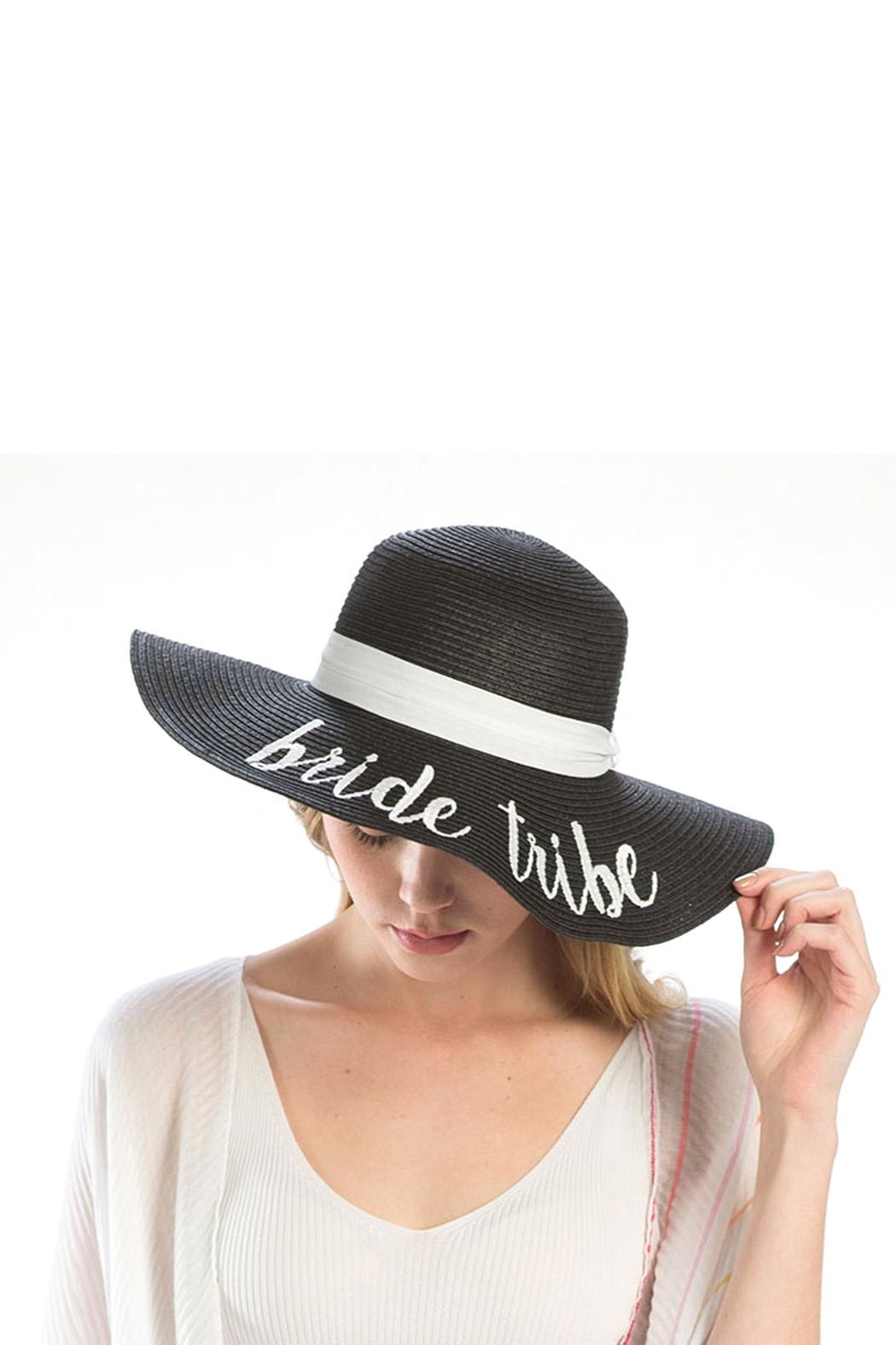 Wild Lilies Jewelry  Bride Tribe Hat - Front Full Image