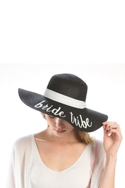 Wild Lilies Jewelry  Bride Tribe Hat - Front full body
