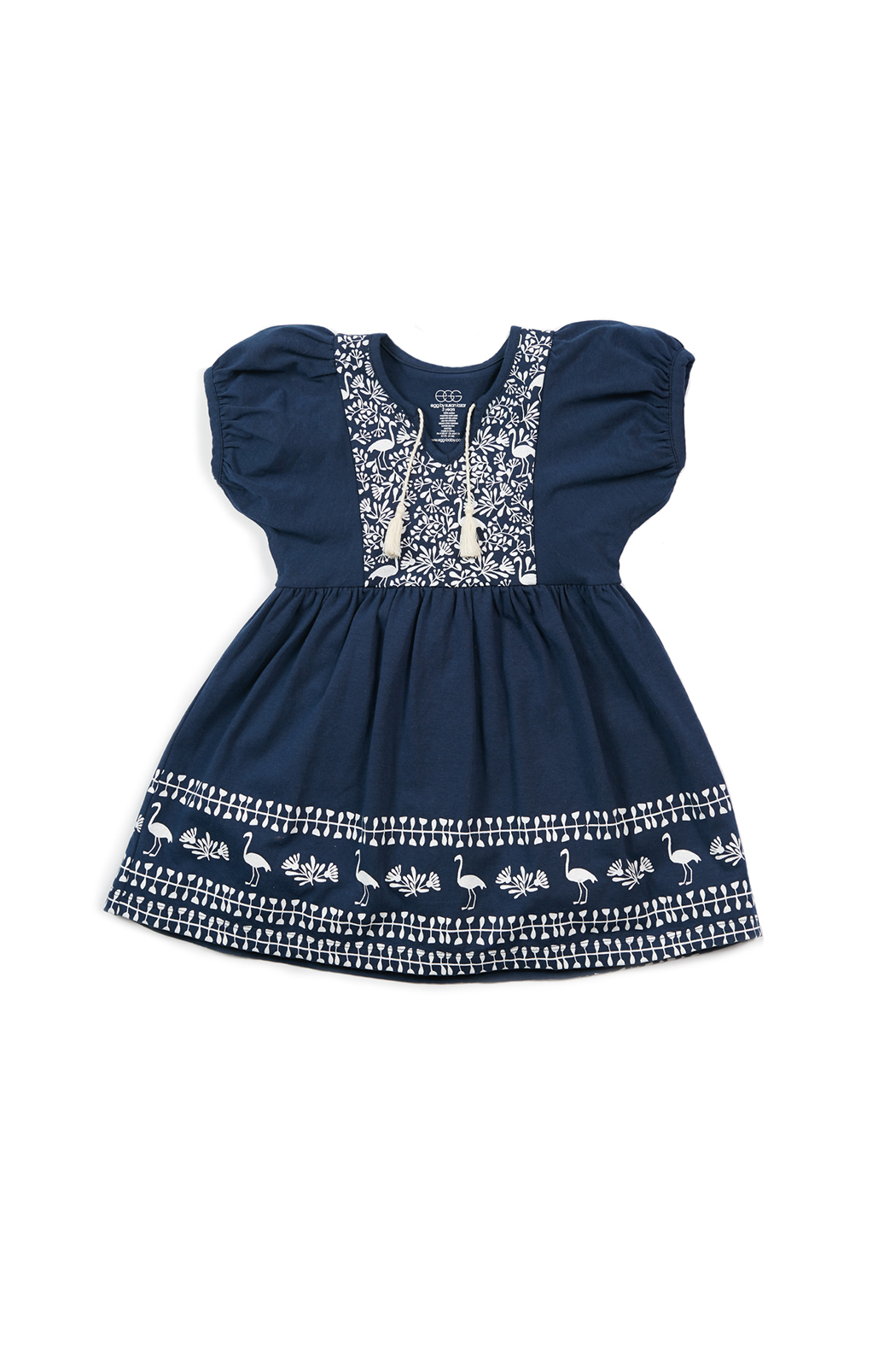 EGG Bridget Dress Navy - Front Cropped Image