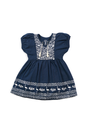 EGG Bridget Dress Navy - Front cropped