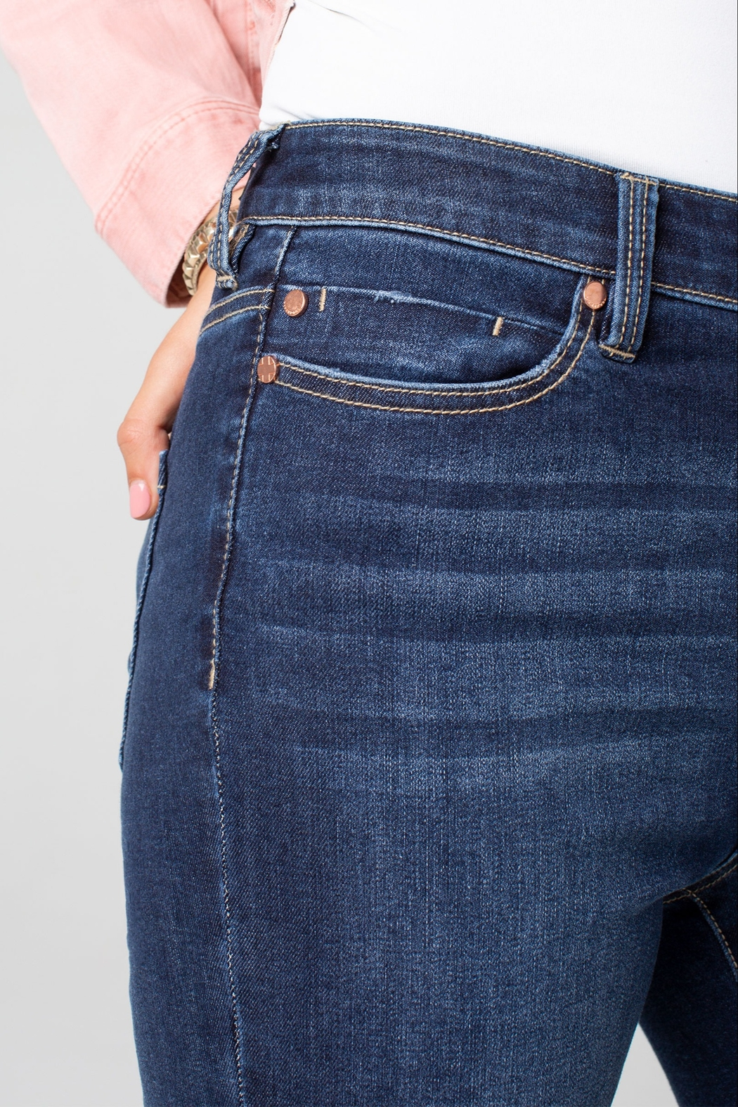 Liverpool Bridget High-Rise Ankle Skinny - Side Cropped Image