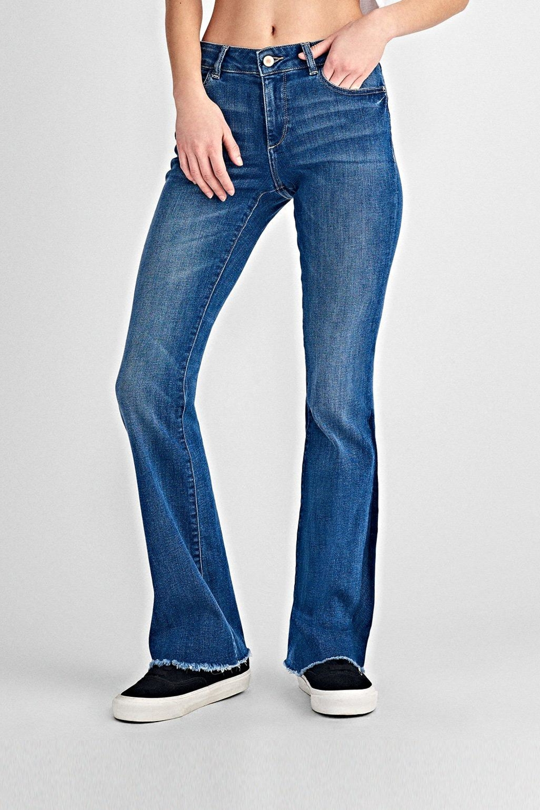 DL 1961 Bridget Mid-Rise Bootcut - Front Cropped Image