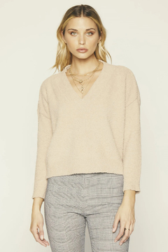Knot Sisters Bridget Cropped Sweater - Alternate List Image
