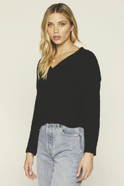 Knot Sisters Bridget Cropped Sweater - Product Mini Image