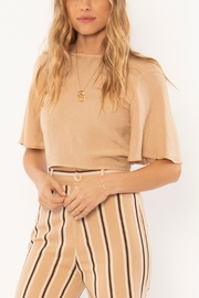 AMUSE SOCIETY Brie Woven Top - Product Mini Image