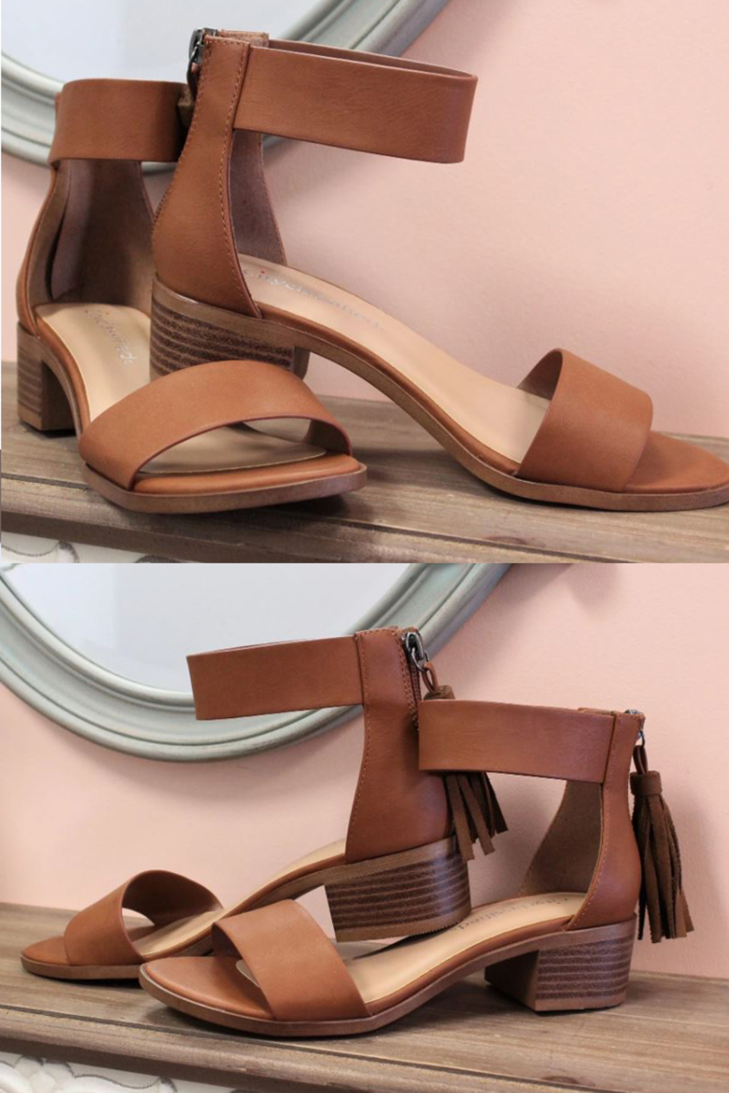 fortune dynamic Briefly Tassel Sandals - Main Image