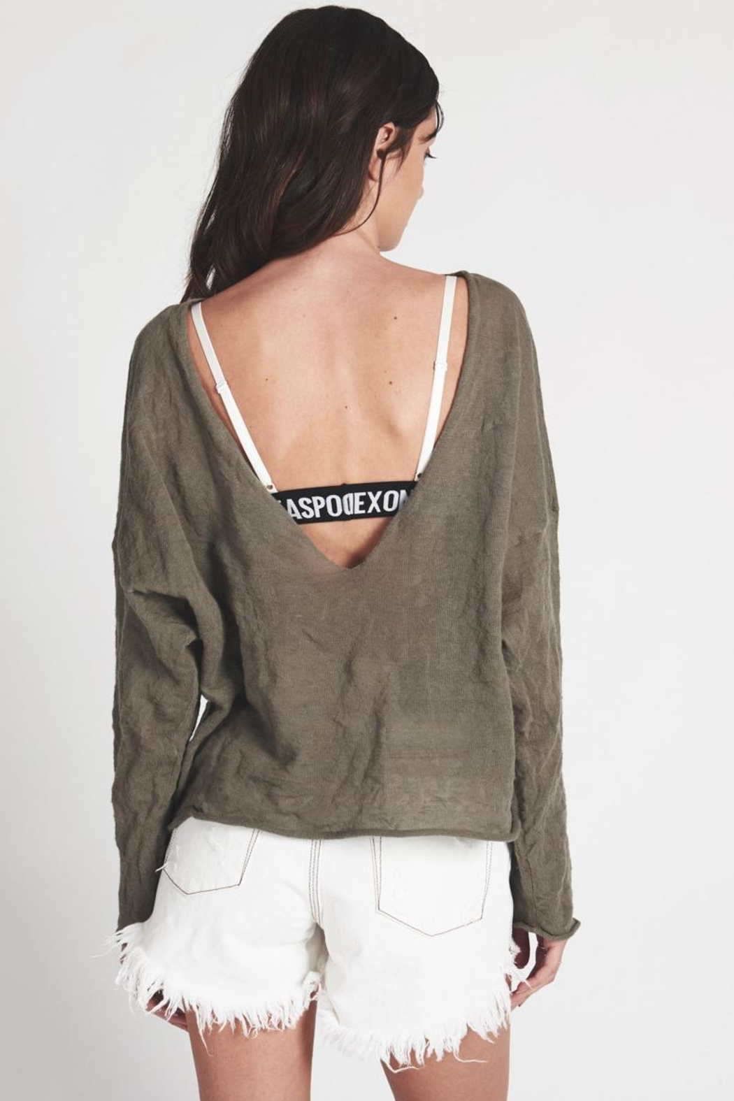 One Teaspoon Brigade Steel Knit - Side Cropped Image