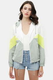 R+D  Brigette Windbreaker Jacket - Front cropped