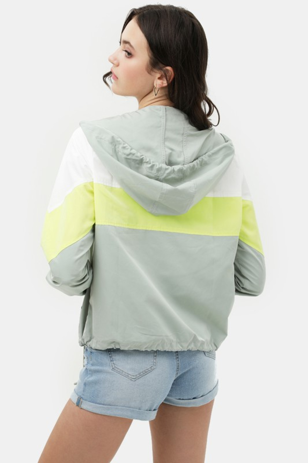 R+D  Brigette Windbreaker Jacket - Side Cropped Image