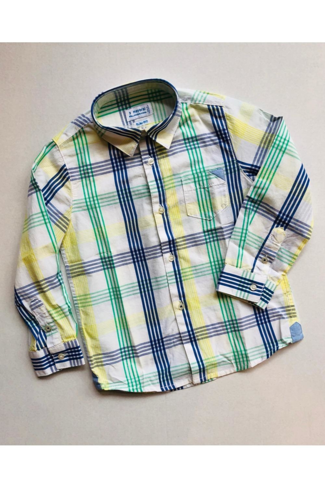 Mayoral Bright Button Up - Main Image