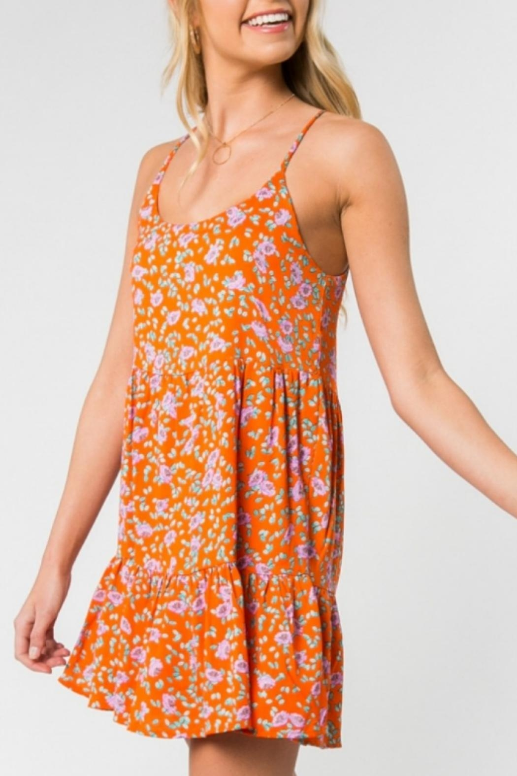 ALB Anchorage Bright Floral Sundress - Front Full Image