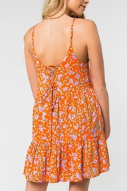 ALB Anchorage Bright Floral Sundress - Back cropped