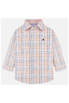 Shoptiques Product: BRIGHT GRID CHECKED SHIRT