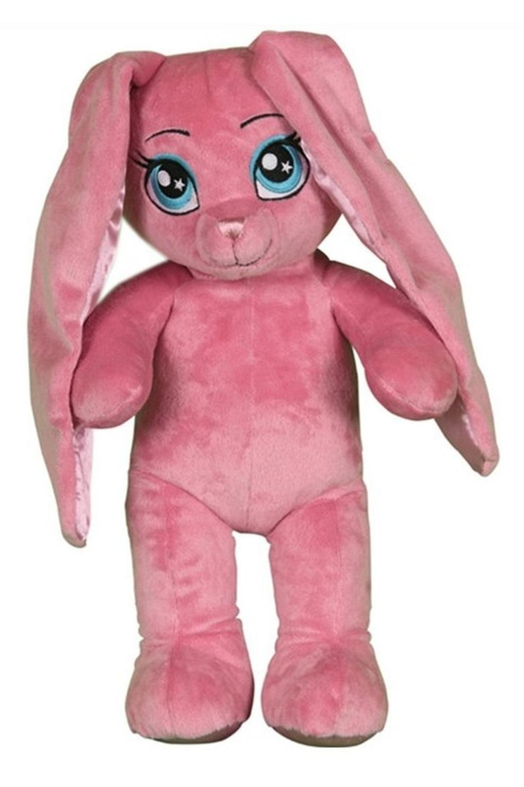 Cuddles and Friends Bright Pink Bunny - Front Cropped Image