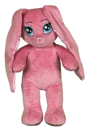 Cuddles and Friends Bright Pink Bunny - Front cropped