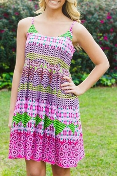Uncle Frank Bright Printed Sundress - Product List Image