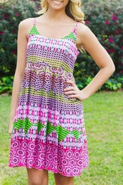 Uncle Frank Bright Printed Sundress - Product Mini Image